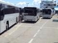 На Керченской переправе со стороны РФ в очереди стоят сотни машин