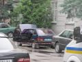 Во Львове возле райотдела взорвался автомобиль, ранен милиционер