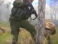 Военное телевидение показало учения разведчиков в АТО