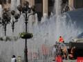 В Киеве заработали фонтаны
