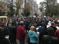 Под АП началсь акция из-за нападений на активистов