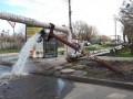 В Харькове рухнула наземная теплотрасса