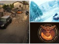 Итоги выходных: землетрясение в Италии, снег в Харькове и скандальная эмблема разведки