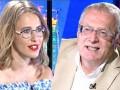 Собчак и Жириновский вновь поссорились на дебатах