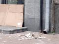 На Крещатике с дома на тротуар обвалились куски фасада
