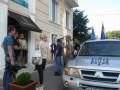 В Одессе активисты заблокировали иностранцев в отеле