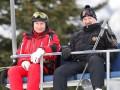 Лукашенко и Путин вместе покатались на лыжах