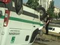 На Троещине инкассаторы попали в ДТП: есть пострадавшие