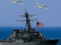 Российские ВКС имитировали ракетный удар по эсминцу США в Черном море