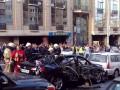 В центре Киева взорвалась машина, есть жертвы