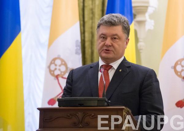 Порошенко: Никаких выборов довывода войскРФ изДонбасса