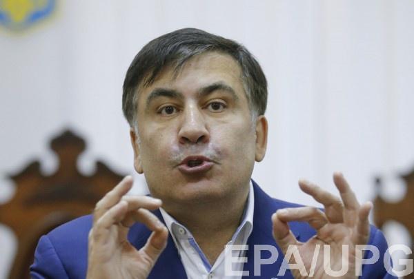 Саакашвили проходит два допроса в СБУ