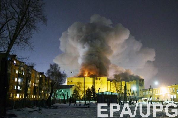 Огромный пожар из маленького кубика: что произошло в ТЦ