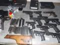 Во Львовской области мужчина пытался переправить через границу 11 пистолетов
