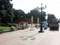 В Киеве из Мариинского парка убрали торговые точки