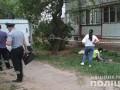 В Харькове преступник пытался сбежать от копов и сорвался с балкона