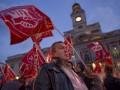 В Испании произошли столкновения между участниками всеобщей забастовки и полицией