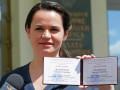 Кандидат в президенты Беларуси была вынуждена вывезти детей из страны
