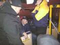 Под Киевом ветераны АТО проучили водителя маршрутки
