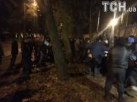 В Киеве произошла драка из-за застройки