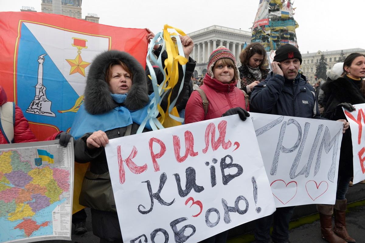 """""""Крым наш"""": история аннексии украинского полуострова"""