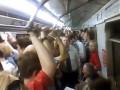 В московском метро в час пик 900 пассажиров застряли в тоннеле на 40 минут