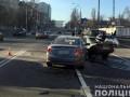 Тройное ДТП в Киеве: есть погибший