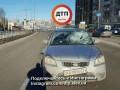В Киеве два ДТП произошло из-за женщины-пешехода