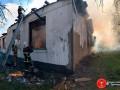 В Ровенской области масштабно горела школа