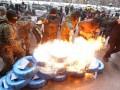 Активиста посадили под домашний арест за поджог шин под КГГА