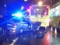 В Киеве Lanos въехал в троллейбус, погиб человек