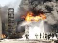 На горящей нефтебазе под Киевом обнаружили еще одно тело погибшего