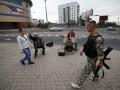 В Донецке угнали автомобили консульства Германии