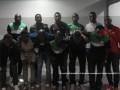 В Борисполе задержали нелегалов под видом футбольной команды