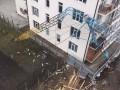 В Запорожье рухнул кран: есть жертвы