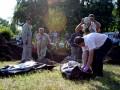 В Славянске обнаружили массовое захоронение мирных жителей (видео)