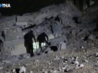 По мечети в районе Алеппо нанесли авиаудар: 42 погибших