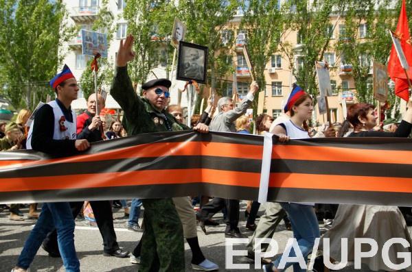 В Бресте запретили использовать георгиевскую ленту в общественных местах