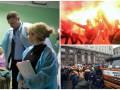 День в фото: инспектор Кличко, марш азовцев и забастовка строителей