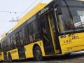 Карантин в Киеве: недовольный пассажир разбил двери троллейбуса