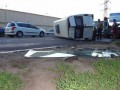 Водитель микроавтобуса, сбивший насмерть женщину, пытался покончить жизнь самоубийством