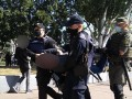 В Запорожье задержаны активисты, атаковавшие участников акции