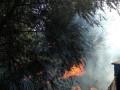 В Кременчуге произошел пожар на территории бывших артскладов