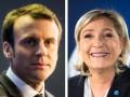 Выборы во Франции: Ле Пен и Макрон проходят во второй тур