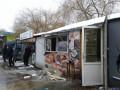 В Ровно произошел взрыв в киоске с шаурмой
