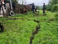 В Карпатах вероятно смещение почвы