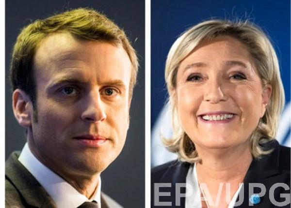Макрон и Ле Пен прошли во второй тур выборов президента Франции