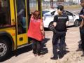 Погоня в Киеве: патрульные догнали автобус, сбивший велосипедиста