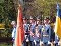 Киевское военное училище отметило юбилей под красным знаменем