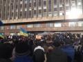 В Запоророжье несколько тысяч человек штурмуют здание ОГА